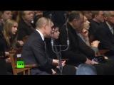 Владимир Путин простился с Олегом Табаковым