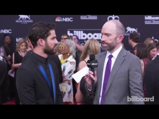 Darren Criss Dishes on Upcoming Tour with Lea Michele - BBMAs 2018
