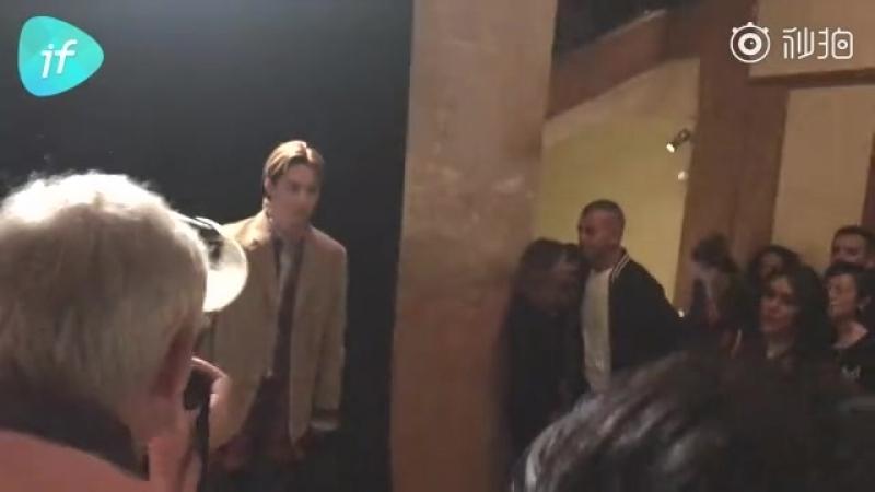 [fancam] 180924 Gucci S/S 19 Show / Kai