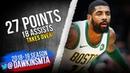 Kyrie Irving Full Highlights 2019.01.16 Celtics vs Raptors - 27 Pts, 18 Asts, CLUTCH! | FreeDawkins