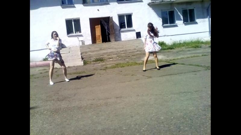 Танец Despacito. Исполнители: Сошина Вероника и Кривова Кристина.
