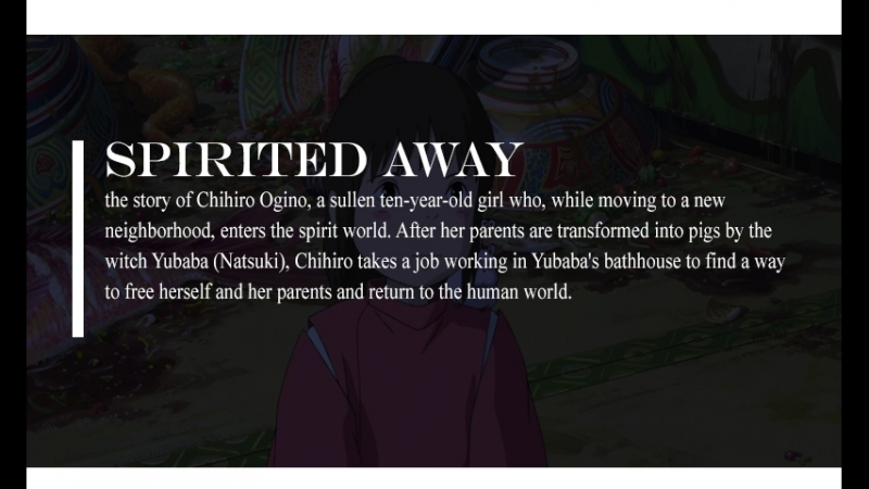 Унесенные призраками — Spirited away