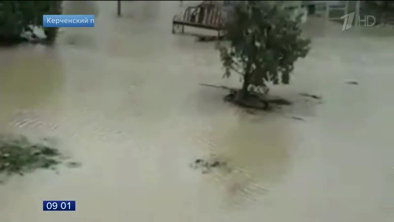 Ураганный ветер и сильные дожди обрушились на Краснодарский край