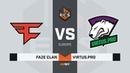 FaZe vs Virtus.pro, map 2 inferno, ECS Season 7 Europe