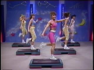 Cathe Friedrich Step N Motion 3 аэробика, шейпинг, фитнес