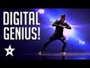 Digital Animated Dance Audition On Mongolia's Got Talent   Got Talent Global