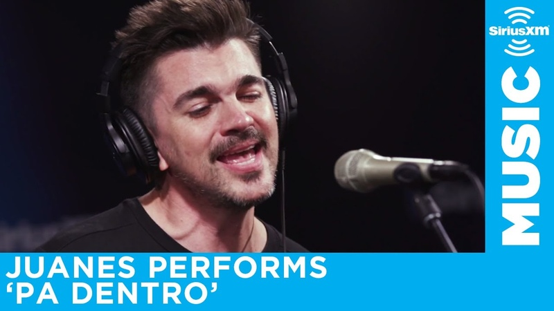 Juanes performs Pa Dentro at the SiriusXM Studios