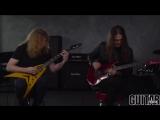 Megadeth - Fatal Illusion Playthrough with Dave Mustaine Kiko Loureiro