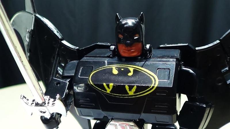 BAT ROBOT (Batman Transformer) EmGos Transformers Reviews N Stuff