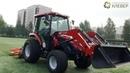 Новый трактор для футболистов