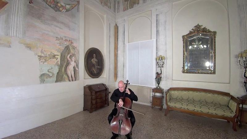 F. KREISLER SCHOEN ROSMARIN Luca Paccagnella violoncello Medieval Castle