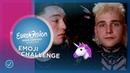 EMOJI CHALLENGE Eurovision stars describe their songs - Eurovision 2019