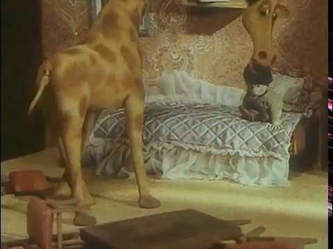 В зоопарке ремонт 1987 Советский кукольный мультфильм Мультфильмы Золотая коллекция