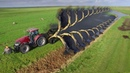Modern Technology Agriculture Huge Machines and Heavy Agriculture Equipment