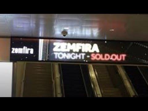 Zemfira Concert at MADISON SQUARE GARDEN