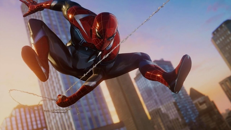 Marvel's Spider Man First DLC New Suit in Action