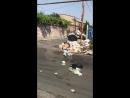 15.07.2018 Էրեբունի Վարչական Շրջան, Նոր Արեշ 9-րդ, 11-րդ փողոցներում տիրում է գարշելի վիճակ, աղբը հասել է երկինք։ Sanitek Armeni