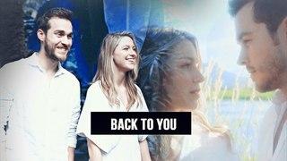 Back to you { Kara & Mon-el )