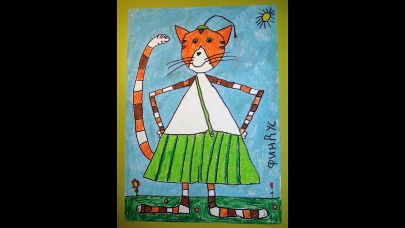 Любец август 2012 год. рисунок Кусакина Варвара
