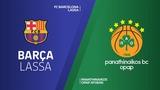 FC Barcelona Lassa - Panathinaikos OPAP Athens Highlights   Turkish Airlines EuroLeague RS Round 18