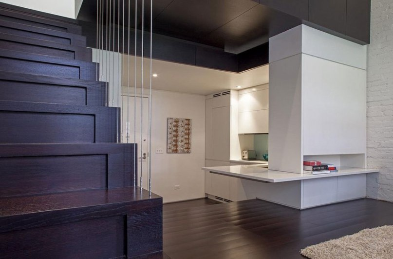 Двухуровневая квартира наполненная светом