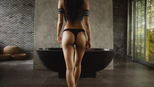 Sexy Asian Model in Bali