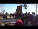 Перезахоронене останков воинов с Доброе Белг обл Участник ВОВ Коммунист Уваров Алексей Николаевич