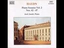 Haydn Piano Sonatas nrs 42 47