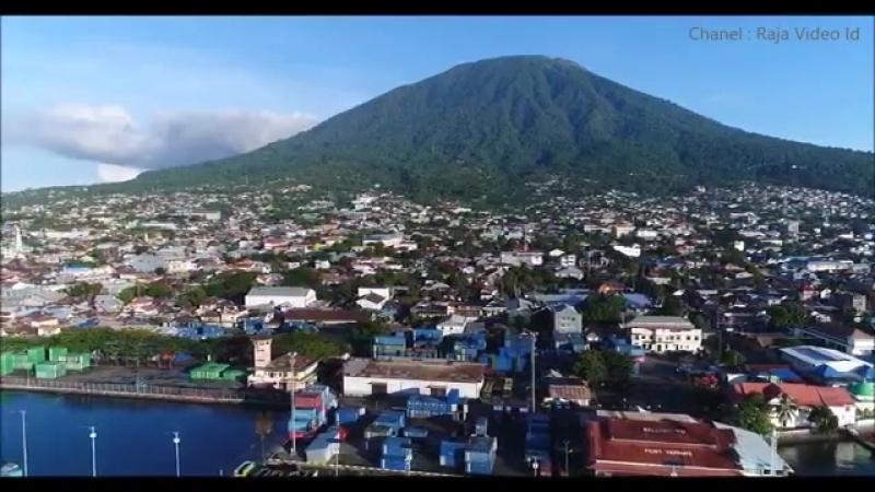Pesona Kota Ternate 2018 Kota Terbesar yang Pernah Menjadi Ibukota Provinsi Maluku