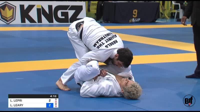Levi Jones-Leary vs Lucas Lepri Lightweight IBJJFEURO19 FIN