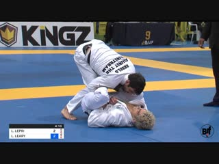 Levi Jones-Leary vs Lucas Lepri Lightweight #IBJJFEURO19 FIN