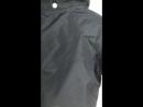 Осенняя куртка для мальчика спортивного стиля прочный брезент болонь и черный немаркий цвет