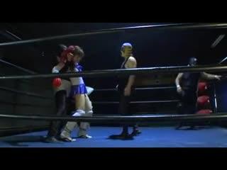 Athb-28 beautiful wrestler super handicap match