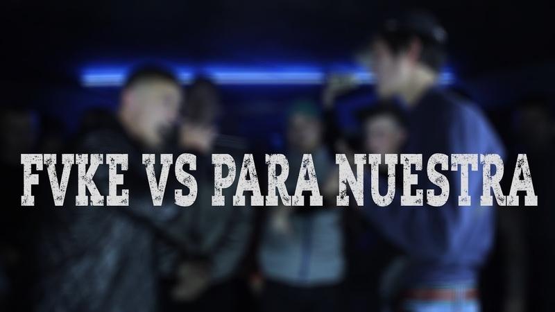 Height battle 3 FVKE VS Para Nuestra