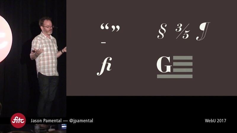 Jason Pamental - Variable Fonts and the Future of Web Design