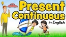 Present continuous in English for kids - What are you doing