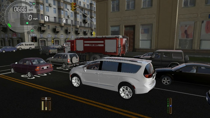 City Car Driving 1.5.6.3 - 2017 Chrysler Pacifica Limited