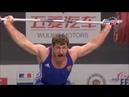 Dimitry Klokov v Khadzhimurat Akkaev at 2011 World Weightlifting Championships