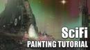Digital SciFi Painting Tutorial in Photoshop