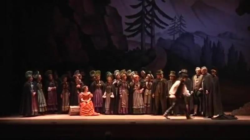 Беллини. Ария Эльвино из оперы Сомнамбула.