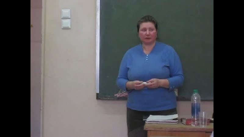 Школа иконописи Преображение Лекция Елены Василёвой 17 марта 2019 года