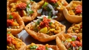 Best Gujarati Food Cooking in a Village Dal Puri or Bhareli Puri Gujarati Recipe