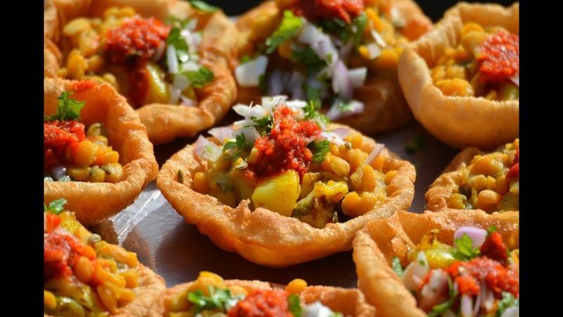 Best Gujarati Food Cooking in a Village | Dal Puri or Bhareli Puri Gujarati Recipe