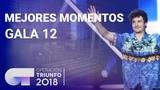 Mejores momentos de la Gala 12 OT 2018