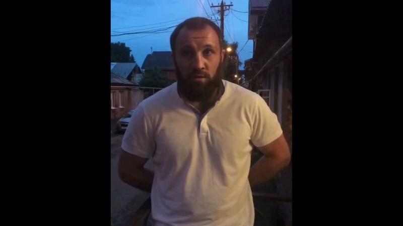 [OssVes] Асланбек Козаев прокомментировал инцидент возле мечети