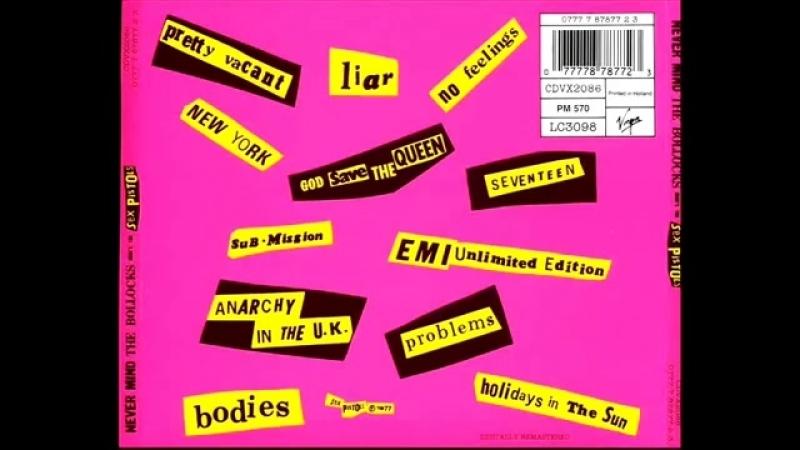 The Sex Pistols - NeverMind The Bollocks (1977)