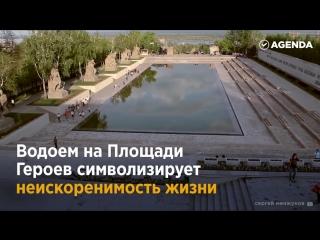 Главный символ Победы — Мамаев курган в Волгограде, дань памяти народу-победителю и поразительное по красоте место