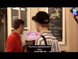 Waiter You're a camera man - JM Yes - JK Oh - JM He said if we're cameraman - - BTSBONVOYAGE3 BonVoyage bts BTSxUnitedNations @B