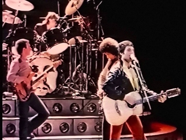 Queen - Crazy Little Thing Called Love - Live in Bristol 1979/12/09 (during soundcheck)