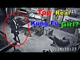 Top Best Female Martial Arts Caught on CCTV Camera
